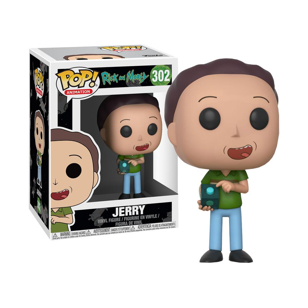 FUNKO POP JERRY #302 RICK AND MORTY ANIMATION