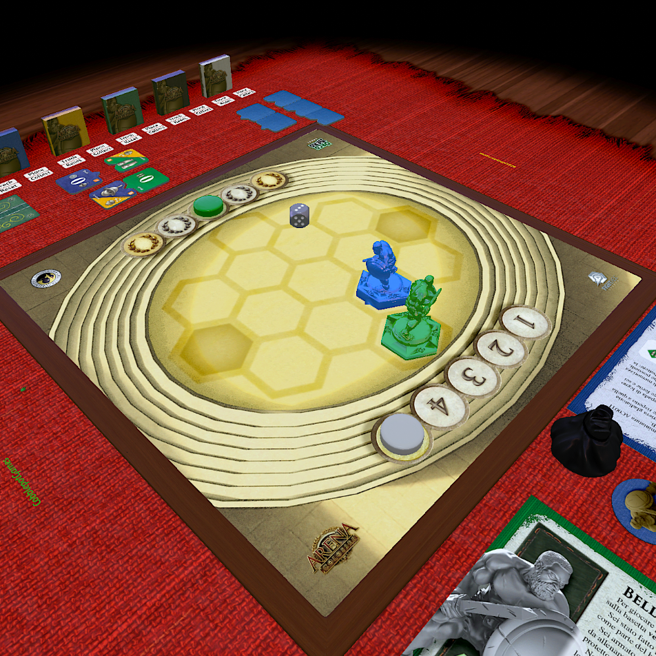 Games: Arena Colossei su Tabletop Simulator