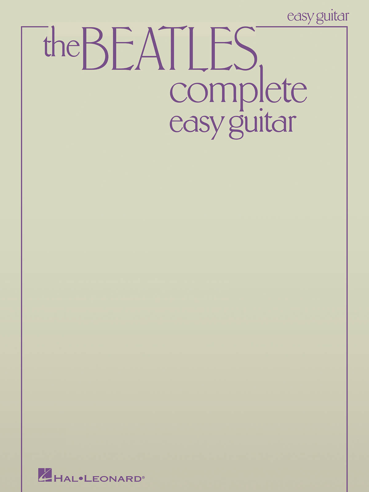 "Libro ""The Beatles Complete"" - Easy Guitar"