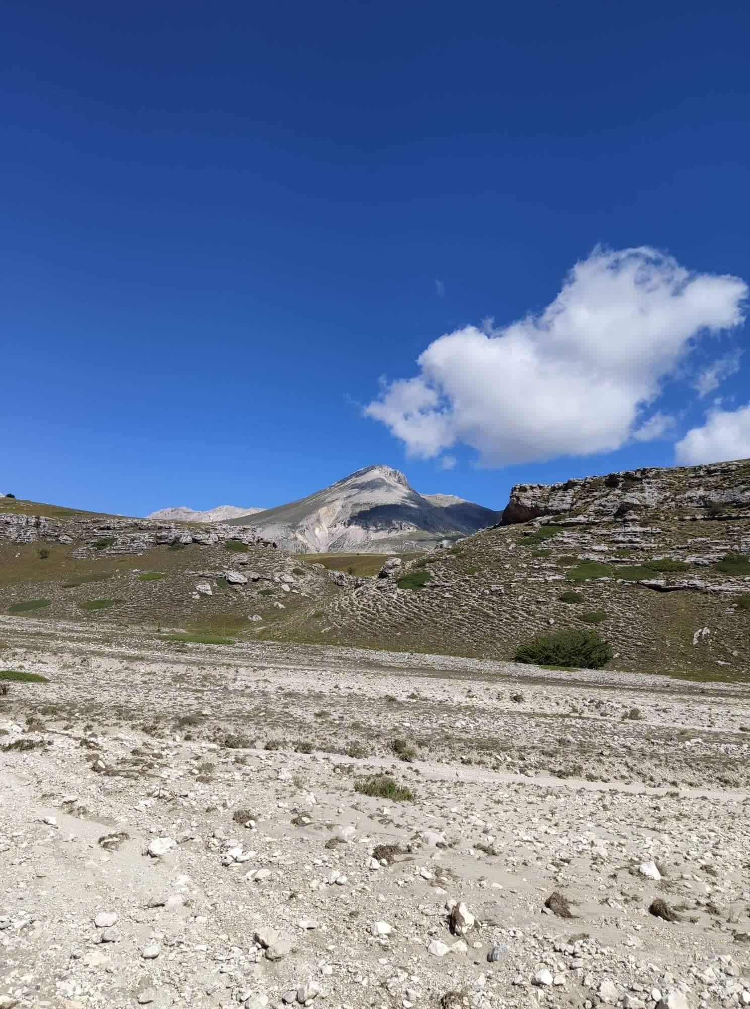 Monte Camicia dal canyon foto GabryJPG