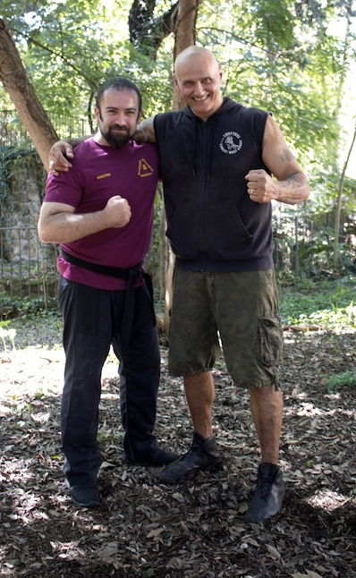 Training with Master Tony Sansaro