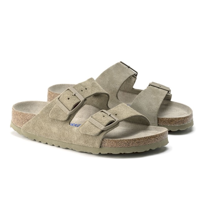 RIZONA SOFT FOOTBED Faded Khaki BIRKENSTOCK
