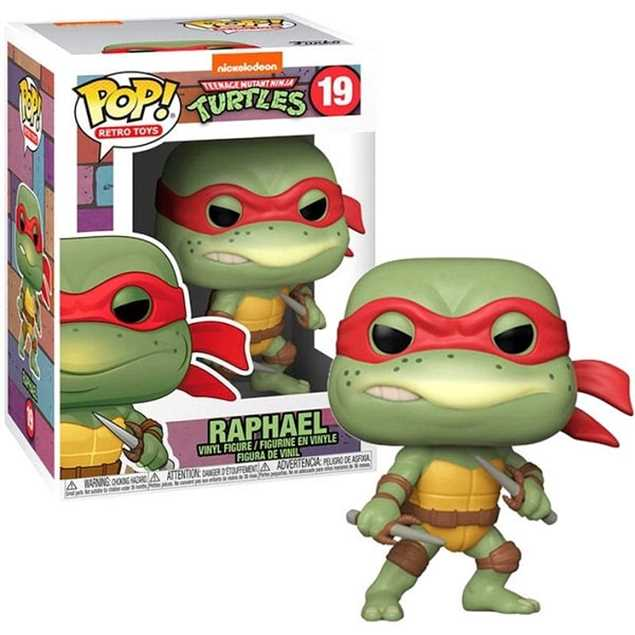 FUNKO POP RAPHAEL #19 NINJA TURTLES TMNT