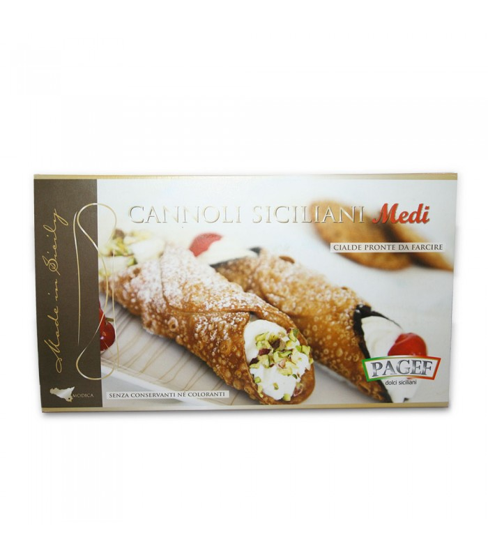 "CANNOLI SHELLS MEDIUM 250gr (8.8oz) ""Imported from Italy"""