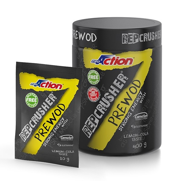 REP CRUSHER® PRE WOD GUSTO LEMON/COLA