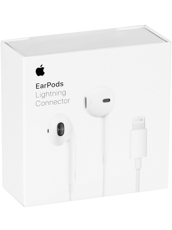 APPLE AURICOLARI EARPODS CON CONNETTORE LIGHTNING