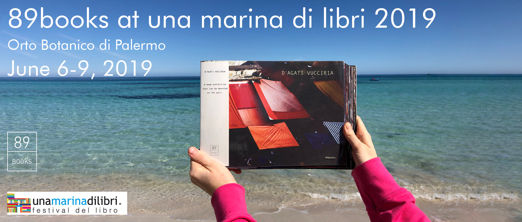 89books at Una marina di libri 2019