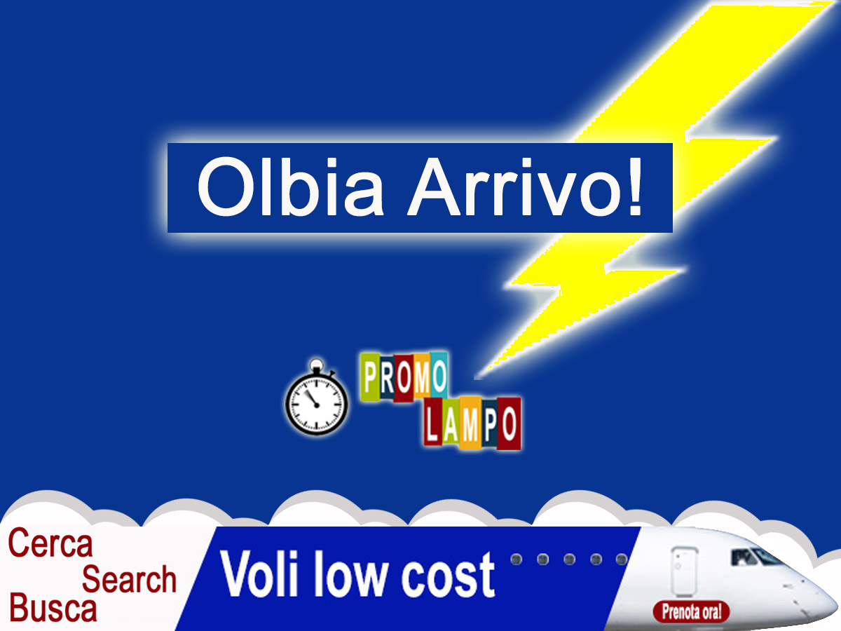 Voli Low Cost Olbia