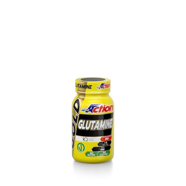 GOLD GLUTAMINE 150CPR.