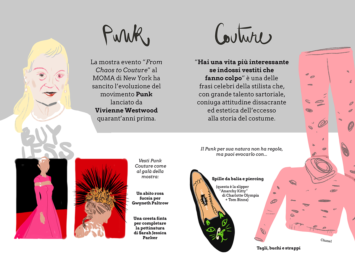 Mode e Muse - Punk Couture with Vivienne Westwood - by Silvana Mariani