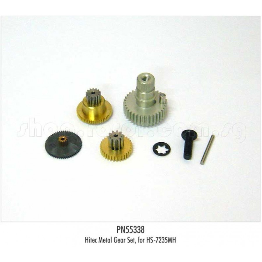 PN55338 Hitec Metal Servo Gear Set, for HS-7235MH
