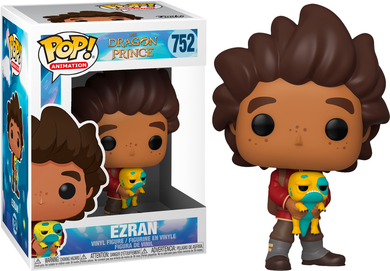 FUNKO POP EZRAN #752 THE DRAGON POP ANIMATION