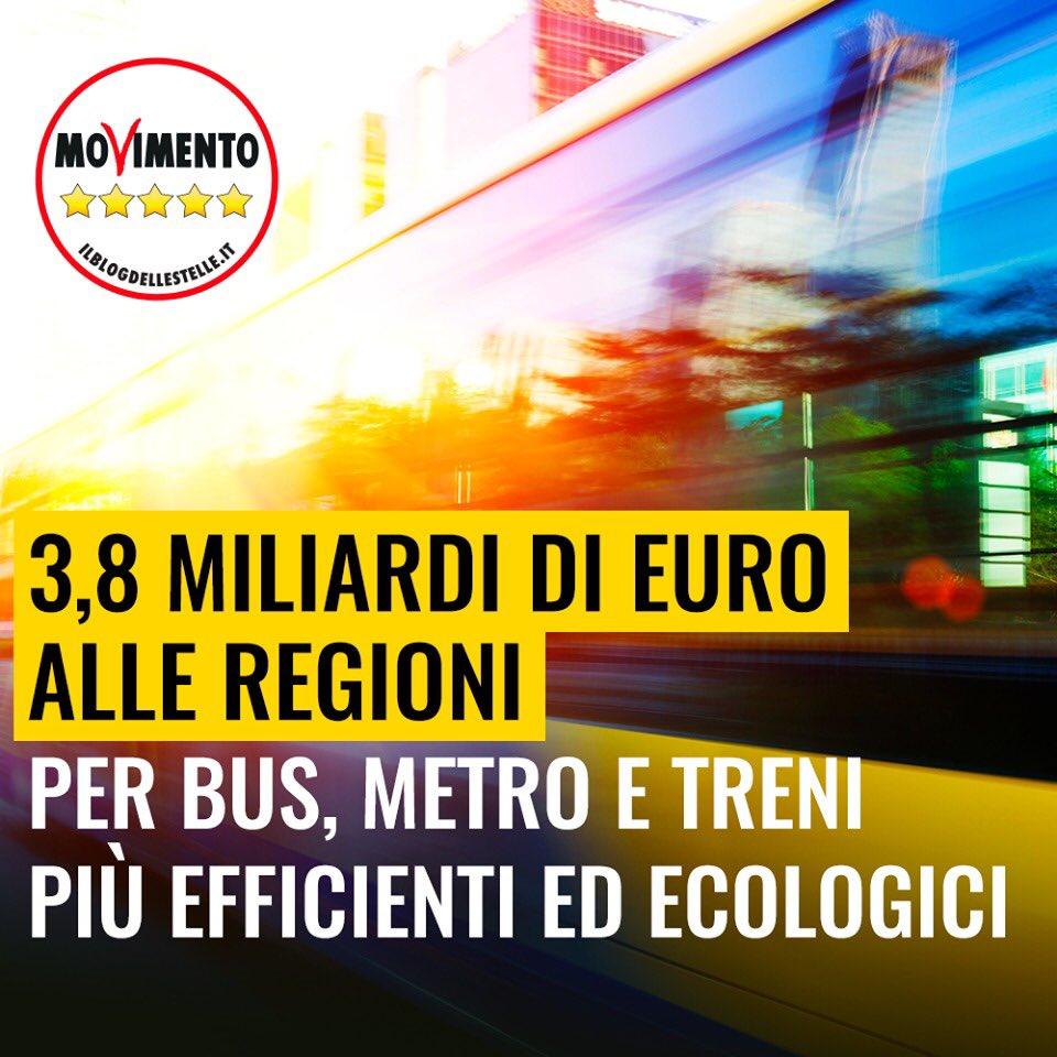 891870424c Regioni: Stop odissea per i pendolari, stanziati 3,89 miliardi per  Trasporto pubblico.