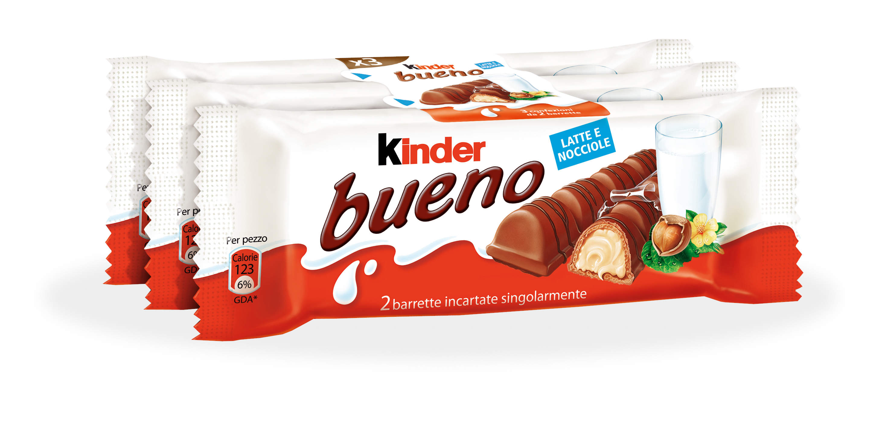 "Kinder Bueno chocolate 3pz ""Imported from Italy"""