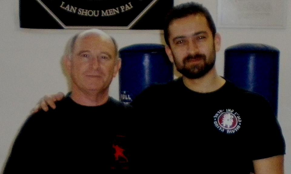 Training with Moti Nativ, former Israeli Army Colonel