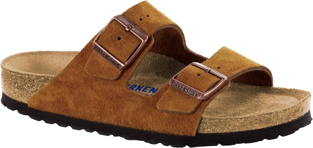 Birkenstock Arizona Suede Leather mink
