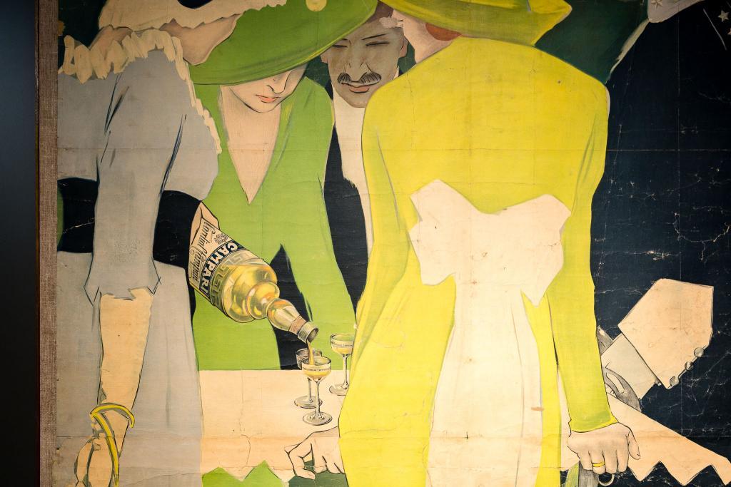 Marcello Dudovich Dame e ufficiali 1913      Galleria Camparijpg