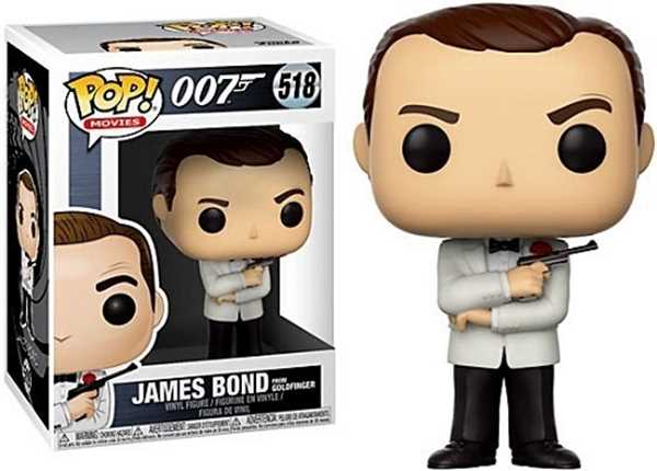 FUNKO POP JAMES BOND #518 SEAN CONNERY MOVIES
