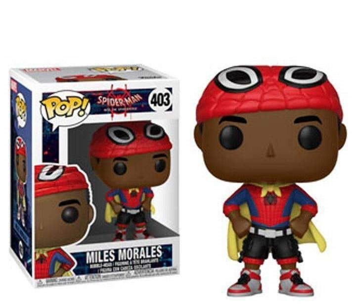 FUNKO POP MILES MORALES #403 SPIDER-MAN INTO THE SPIDER-VERSE