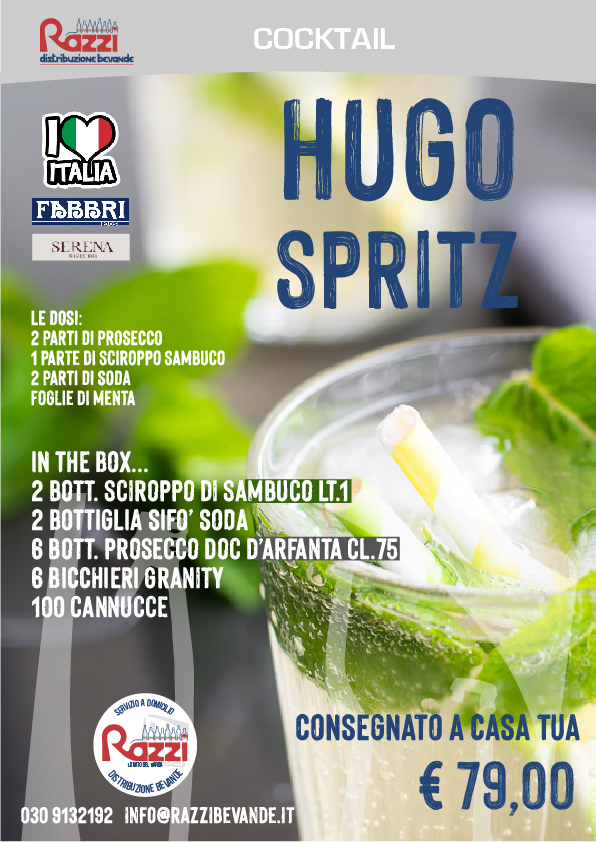 Hugo Spritz Box Kit