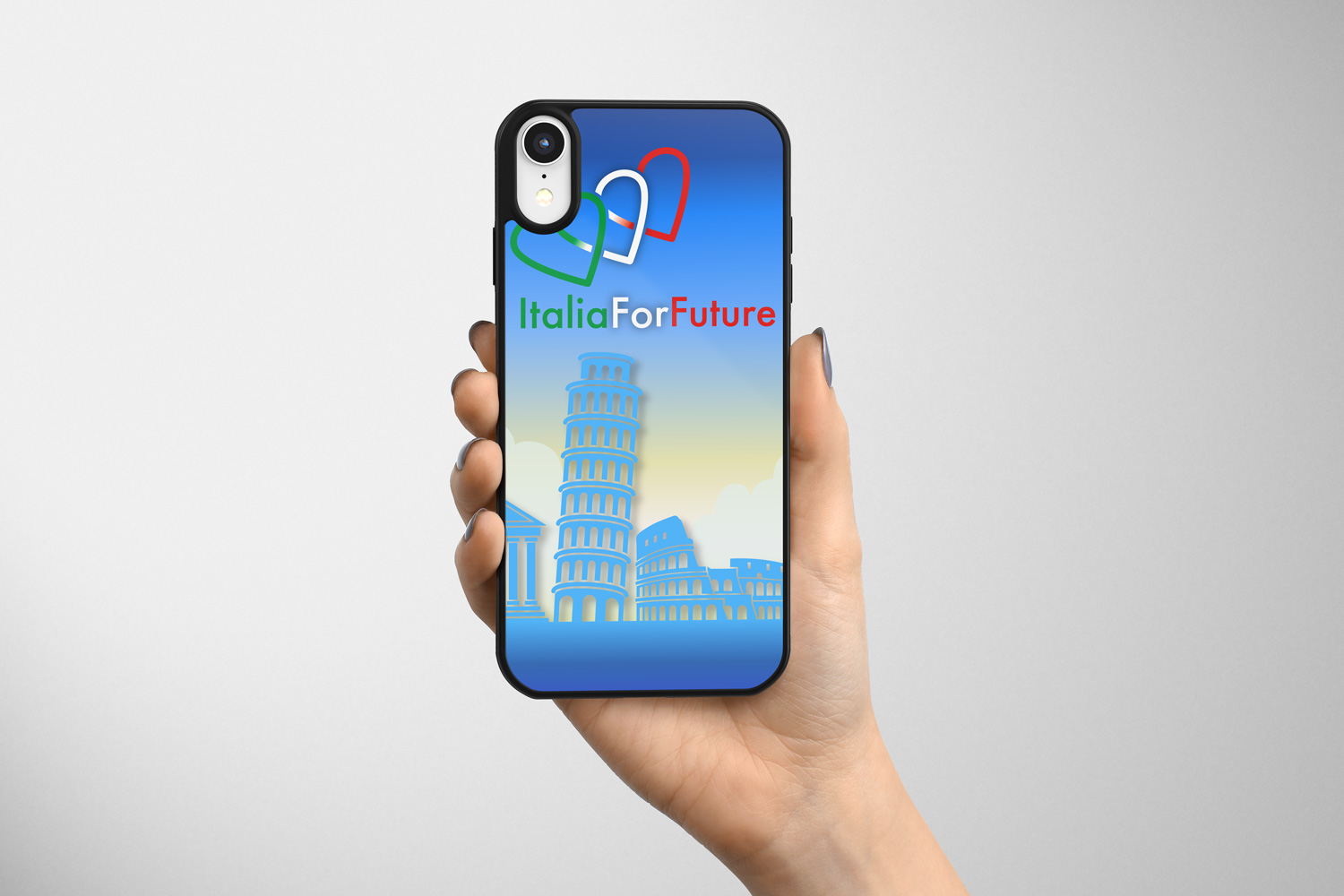 Cover I-Phone ItaliaForFuture