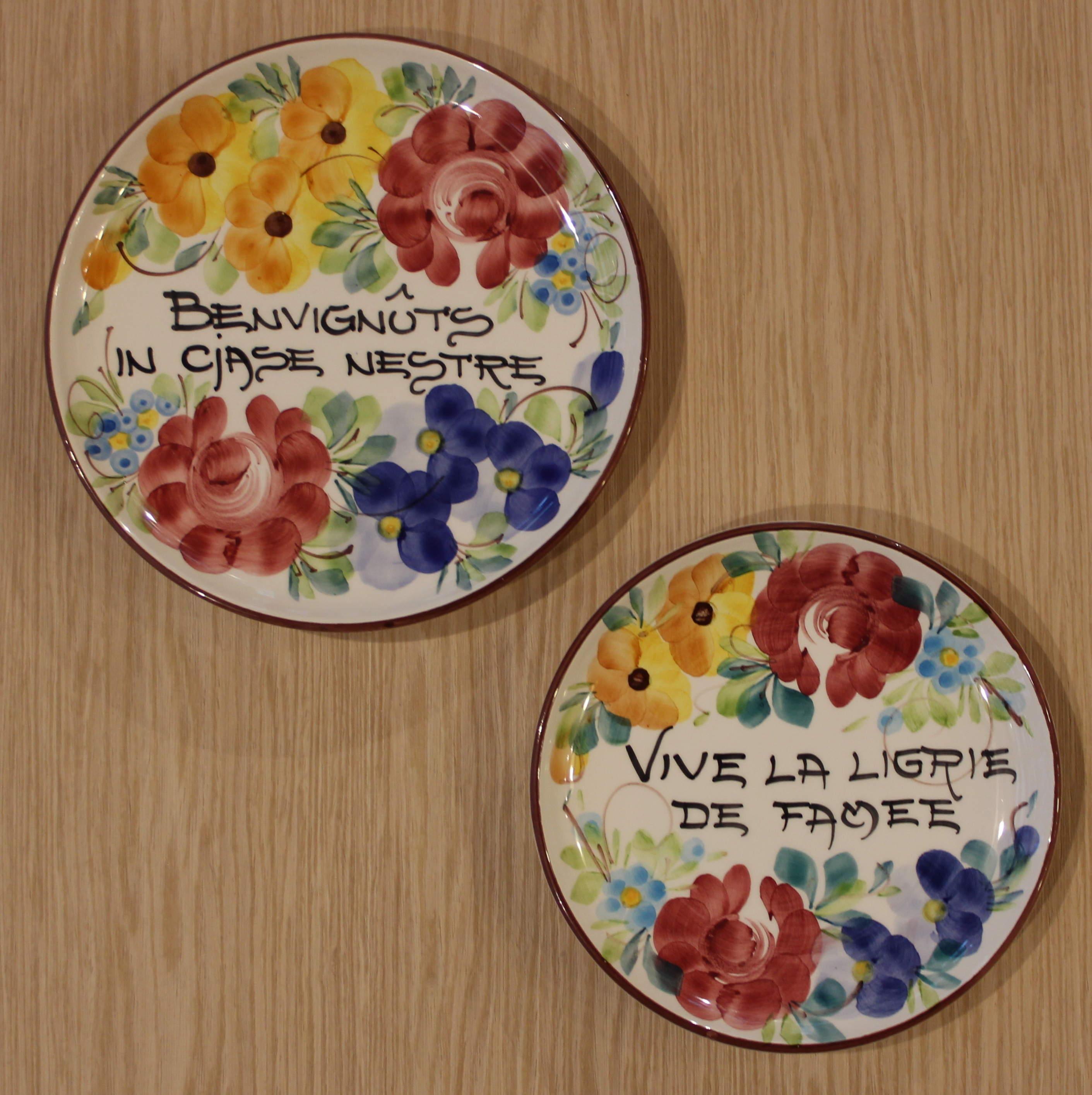 Come Appendere Piatti In Ceramica scopri le ceramiche caratteristiche del friuli
