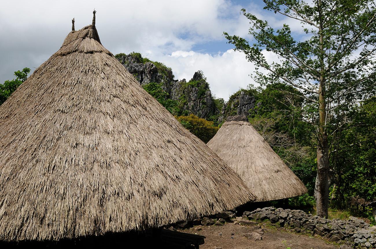 timor capanne villaggijpg