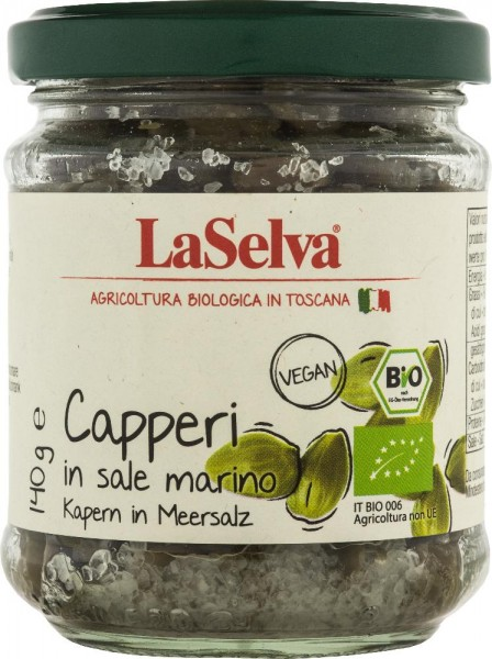 Capperi in sale 140g