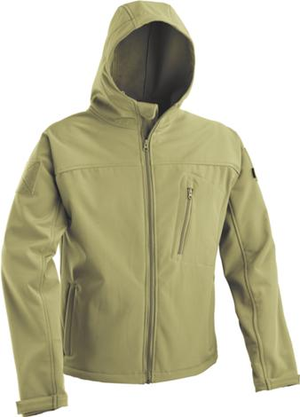 DEFCON 5  SOFT SHELL WITH FIXED HOOD D5-3429OD