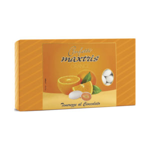 Confetti Maxtris 1KG - Gusto Orange