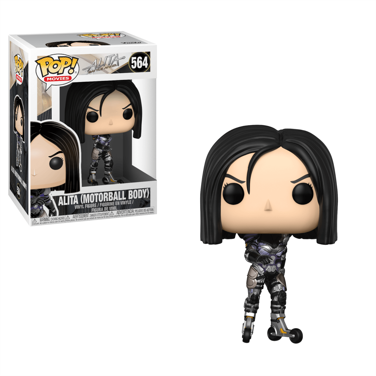 FUNKO POP ALITA #564 ROSA SALAZAR MOVIES