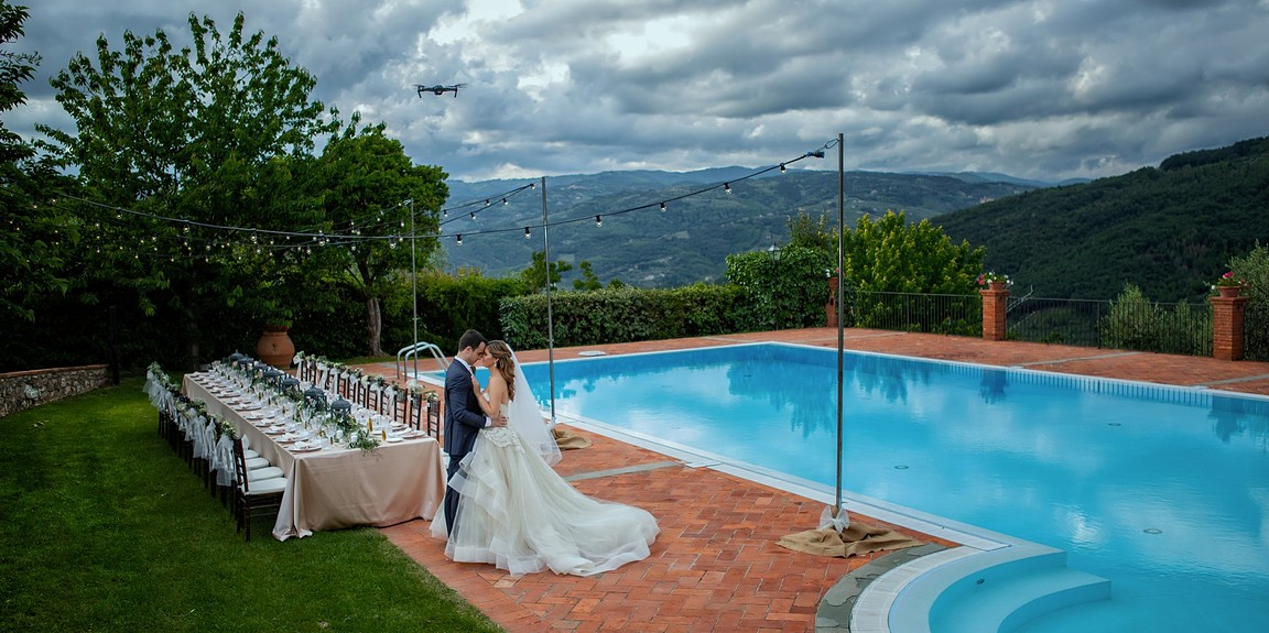 Kristin & Greg - An intimate wedding in Tuscany