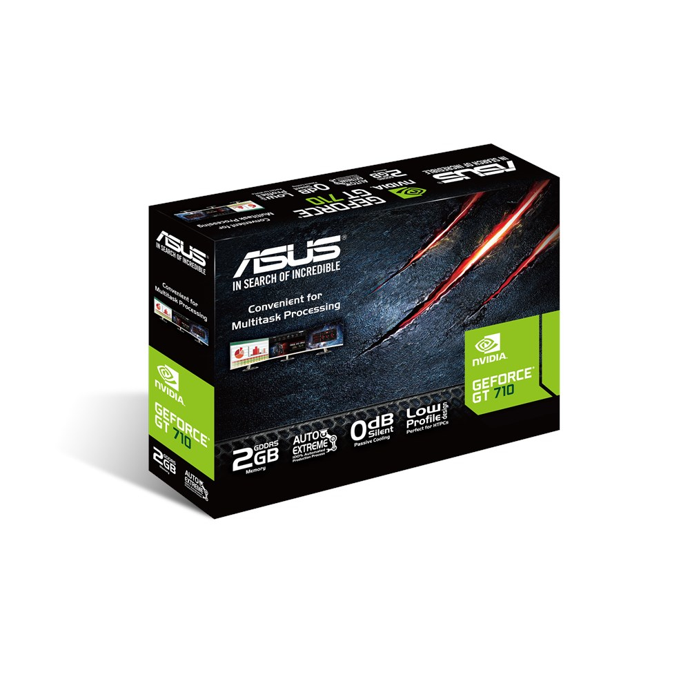 Nuova Vga Pci-Ex 2GB Asus GT710-SL-2GD5 GeForce GT 710
