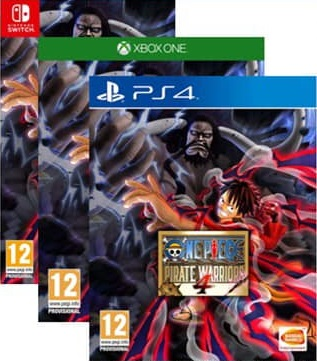 ONE PIECE PIRATE WARRIORS 4 PS4/XBOXONE/NINTENDO SWITCH PRE ORDER