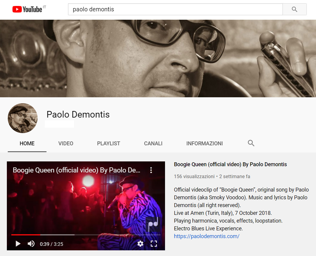 paolo demontis youtube