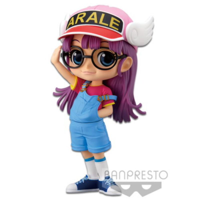 Q POSKET DR. SLUMP ARALE PURPLE VERSION BANPRESTO