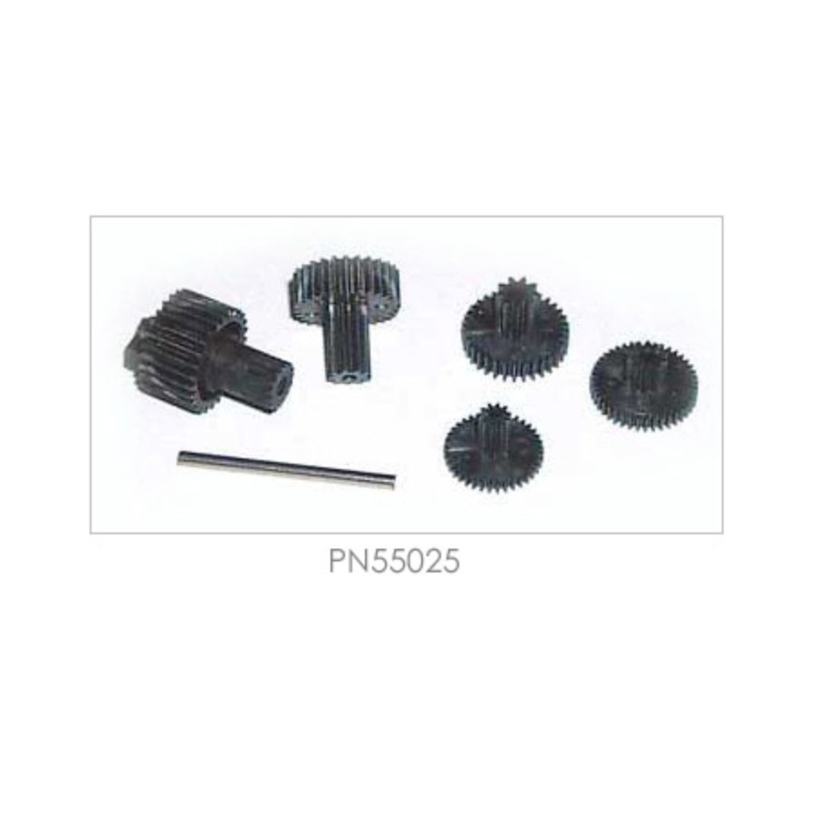 PN55025 Hitec Servo Gear Set (Karbonite), for HS-45HB / HS-5045HB