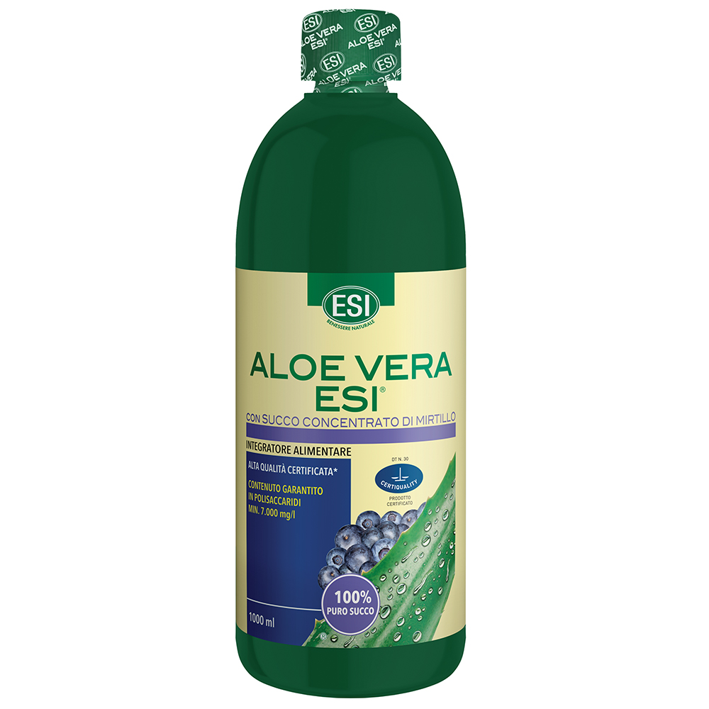 ESI - Aloe Vera Succo con Mirtillo 1000 ml