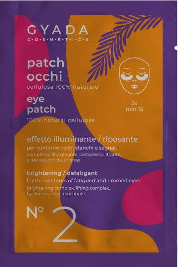 GYADA COSMETICS Patch Occhi Illuminanti e Defaticanti n.2 5ml