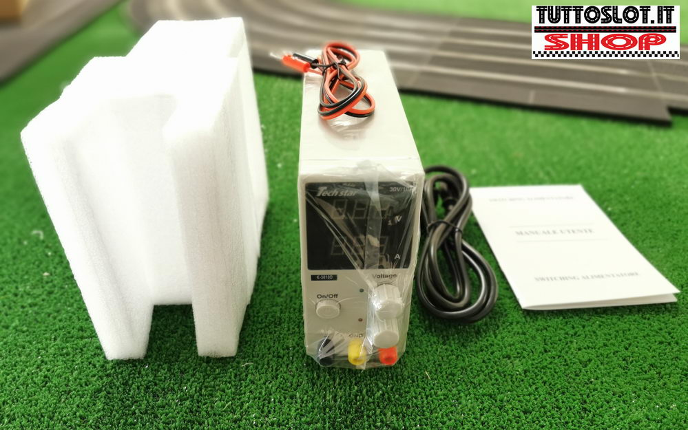 Alimentatore regolabile 0-30 Volt 10 Ampere - Adjustable power supply 0-30 Volt 10 Ampere
