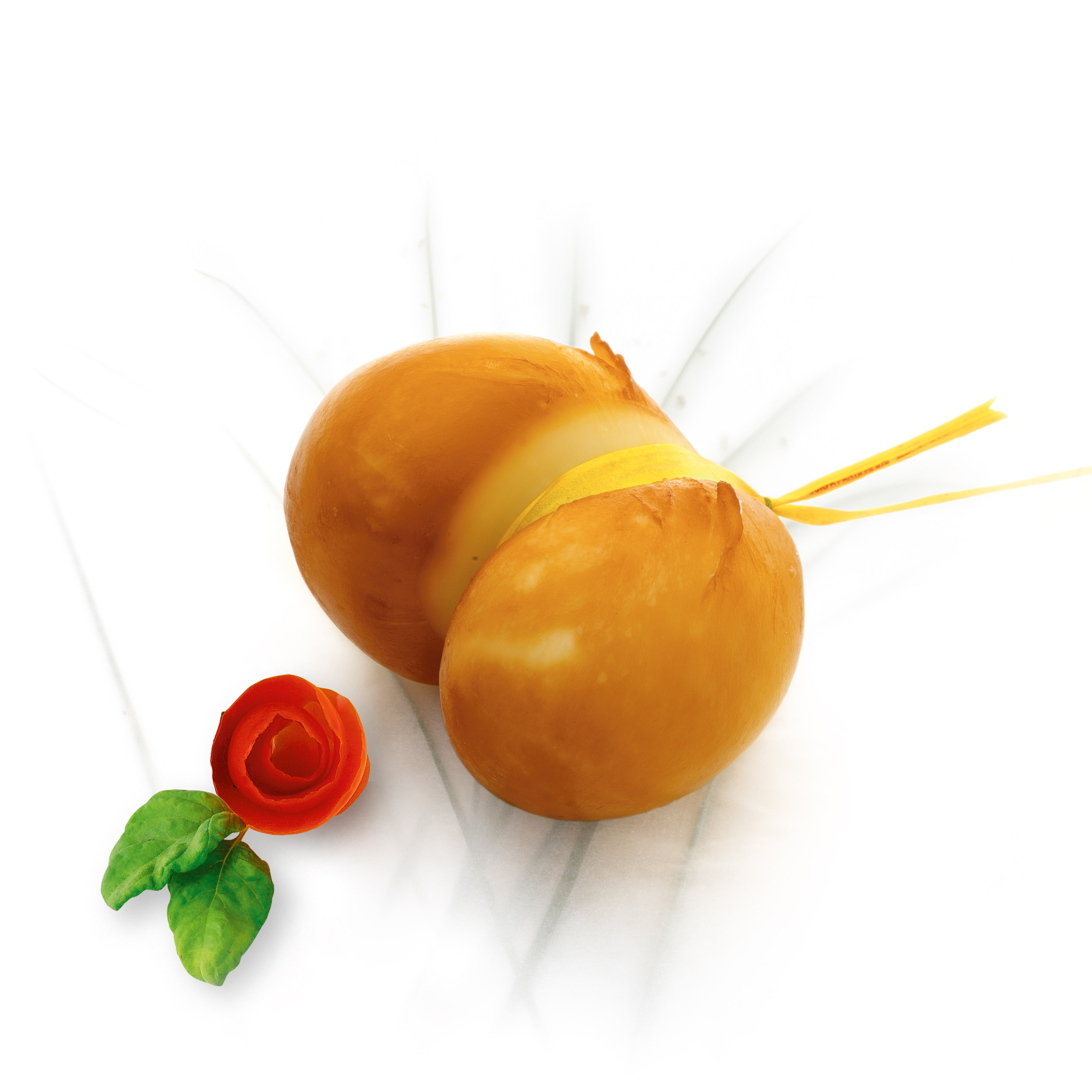 Cheese: Cow Smoked Scamorza 300gr (10.58oz)