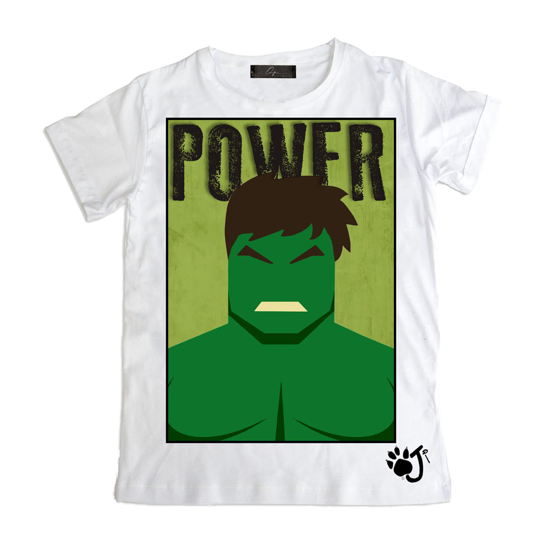 OJI BRAND T.SHIRT KID'S POWER