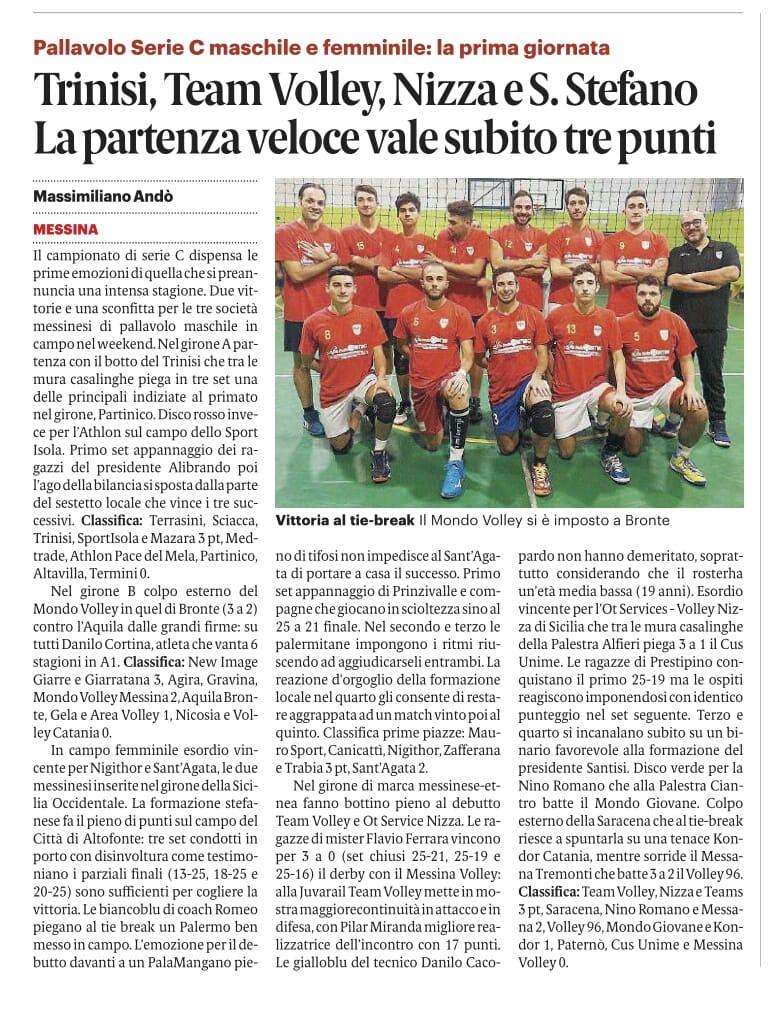Gazzetta 30 ottobre 2018jpg