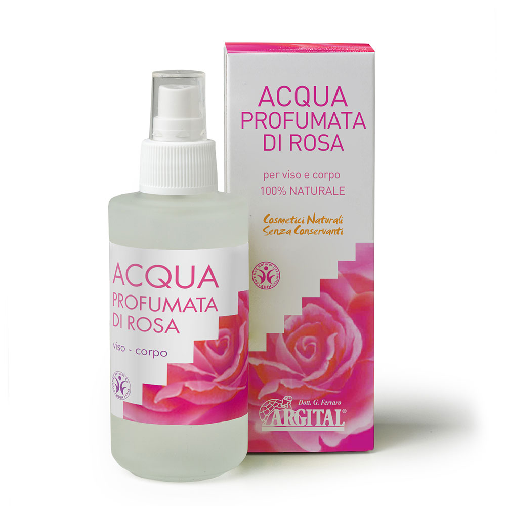 ARGITAL Acqua Profumata di Rosa / Tonico Viso 125 ml
