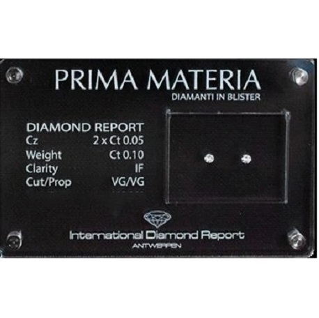 Diamante in blister Prima Materia