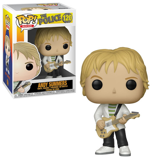 FUNKO POP ANDY SUMMERS #120 THE POLICE ROCK