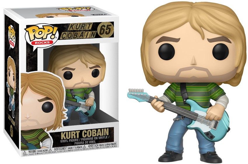 FUNKO POP KURT COBAIN #65 NIRVANA - ROCKS