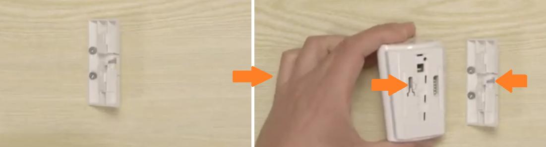 Come installare il rilevatore BW-802 con una staffa angolare - YouTube  Mozillapng