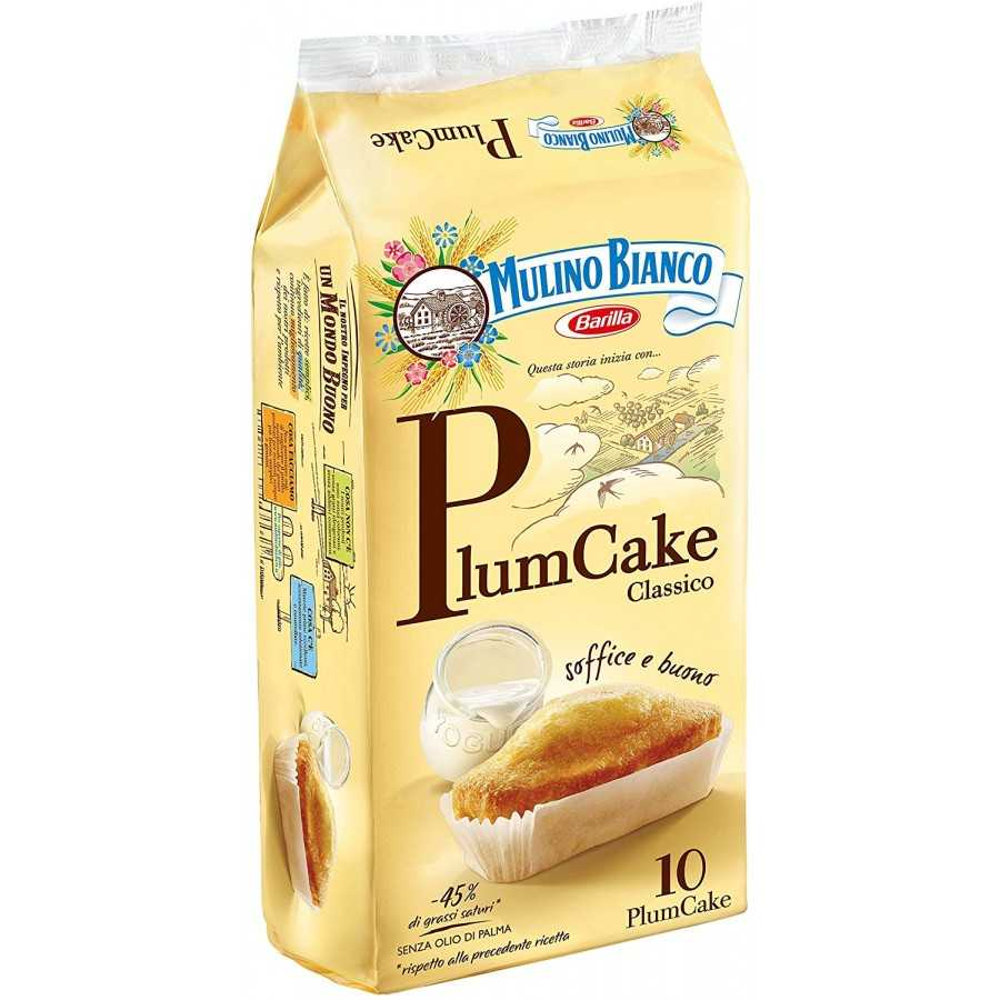"Mulino Bianco Plumcake 330gr (11.64oz) ""Imported from Italy"""