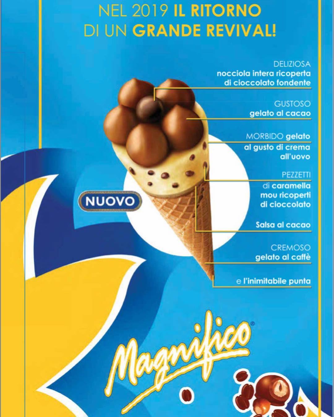 Convenience Box BigCornetto GranRico Whisky+Magnifico  12+12pz